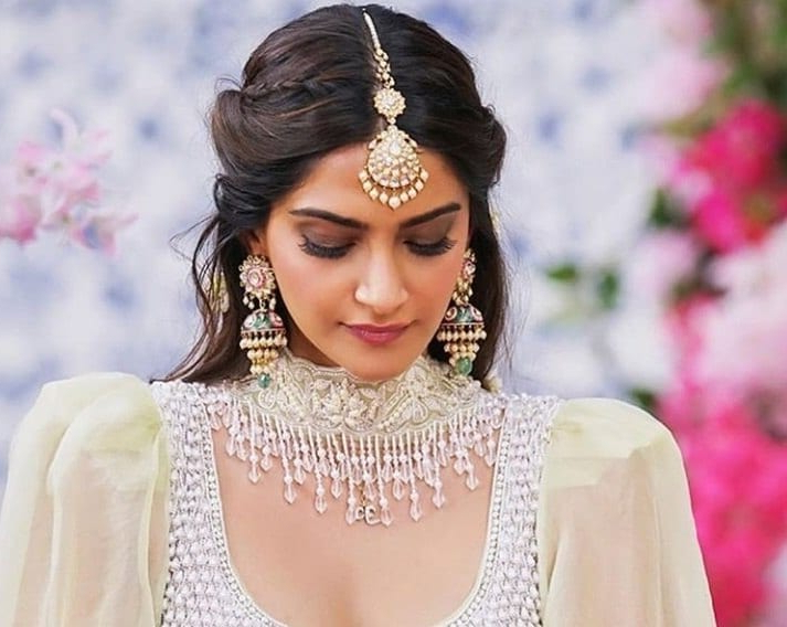 17 Of The Best Indian Wedding Hairstyles For Your Big Day | All Throughout Sleek And Voluminous Beehive Bridal Hairstyles (View 22 of 25)