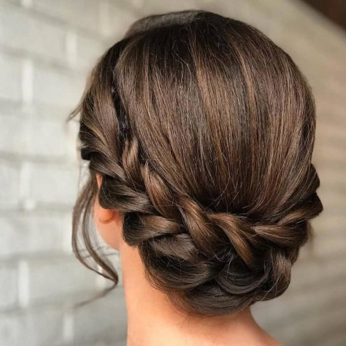 17 Super Easy Updos Anyone Can Do (Trending In 2019) Within Simple And Cute Wedding Hairstyles For Long Hair (View 19 of 25)