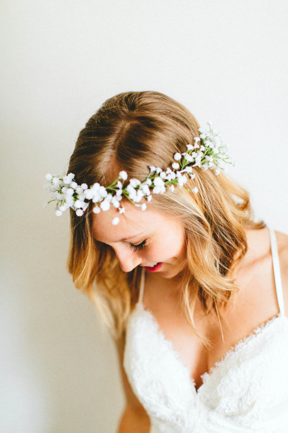 18 Free Spirit Boho Chic Bridal Headpieces You'll Love | Boho Gown Regarding Bohemian And Free Spirited Bridal Hairstyles (View 6 of 25)
