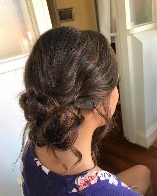 18 Sexiest Messy Updos You'll See In 2019 Within Low Messy Bun Wedding Hairstyles For Fine Hair (View 23 of 25)