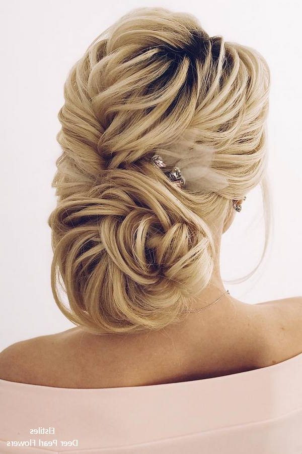 20 Best Formal / Wedding Hairstyles To Copy In 2019   Deer Pearl With Formal Bridal Hairstyles With Volume (View 20 of 25)