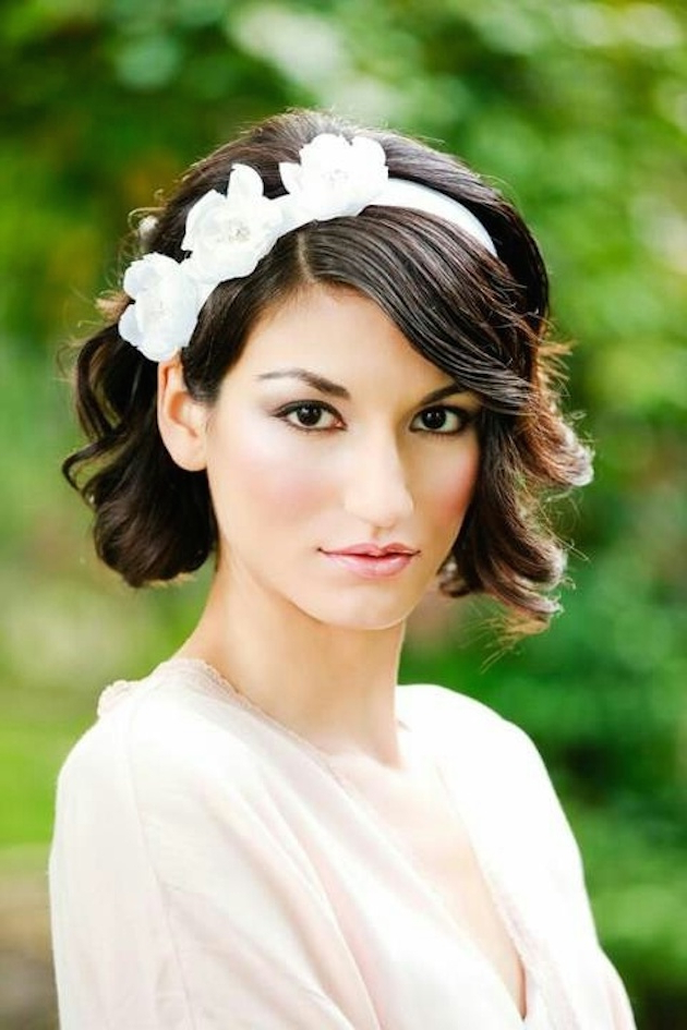 20 Best Wedding Hairstyles | Styles Weekly Throughout Neat Bridal Hairdos With Headband (View 19 of 25)
