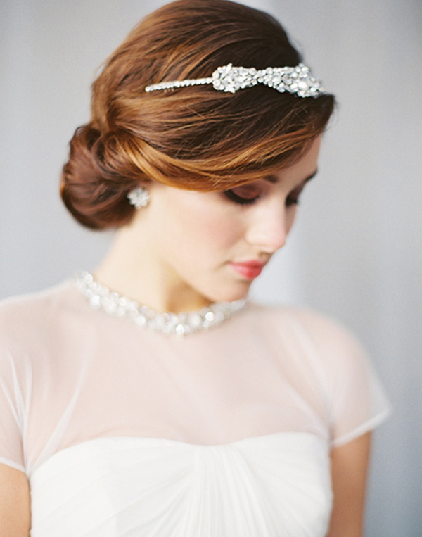 20 Creative And Beautiful Wedding Hairstyles For Long Hair With Regard To Sleek And Simple Wedding Hairstyles (View 15 of 25)