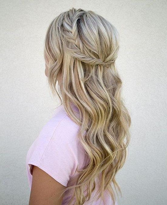 20 Hermosos Peinados Para Cabello Largo | Mermaid Hair Trends | Hair Inside Mermaid Inspired Hairstyles For Wedding (View 3 of 25)