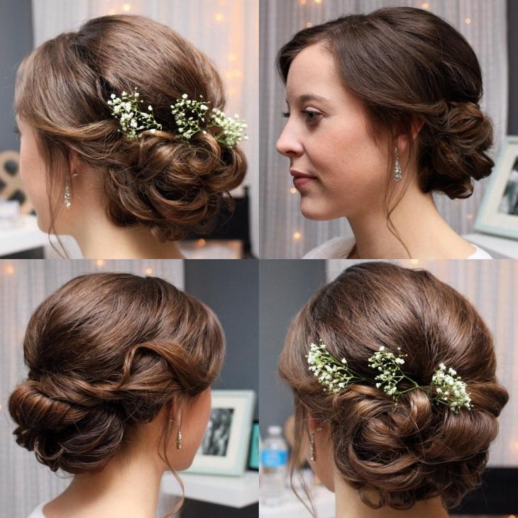 20+ Simple Wedding Haircut Ideas, Designs | Hairstyles | Design Intended For Sleek And Simple Wedding Hairstyles (View 9 of 25)
