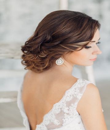 20 Stunning Wedding Hairstyles For Short Hair In Short Wedding Hairstyles With A Swanky Headband (View 13 of 25)