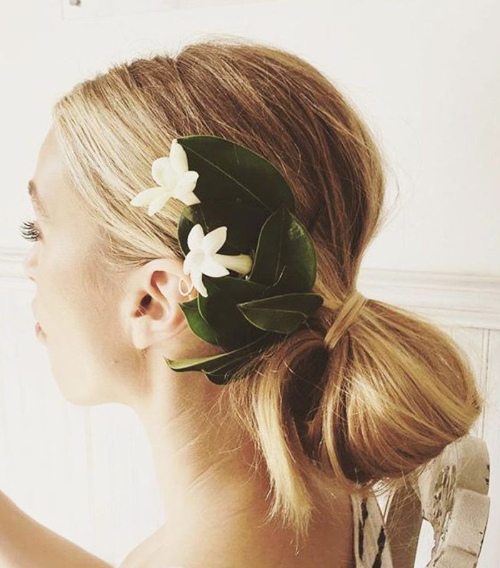 20 Stunningly Simple Wedding Hairstyles For All Textures | Byrdie Inside Sleek And Simple Wedding Hairstyles (View 10 of 25)