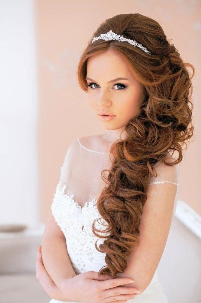 20 Wedding Hairstyles With Tiara Ideas   Hair Today (View 13 of 25)