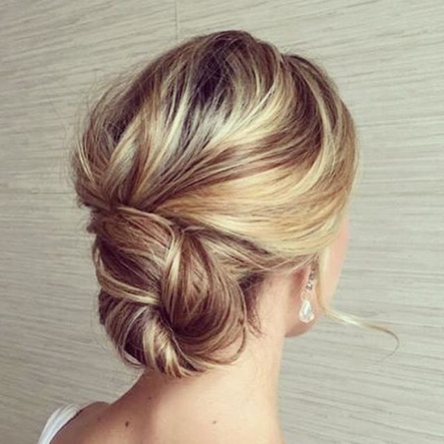 2018 Wedding Hair Trends | The Ultimate Wedding Hair Styles Of 2018 Intended For Chic And Sophisticated Chignon Hairstyles For Wedding (View 14 of 25)