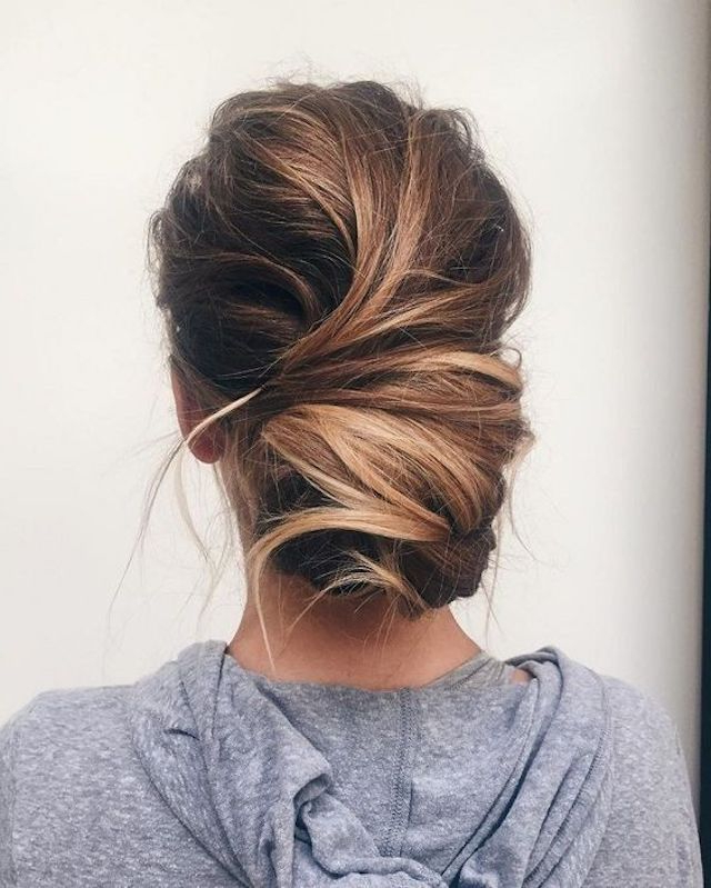 2018 Wedding Hair Trends | The Ultimate Wedding Hair Styles Of 2018 Regarding Low Twisted Bun Wedding Hairstyles For Long Hair (View 24 of 25)