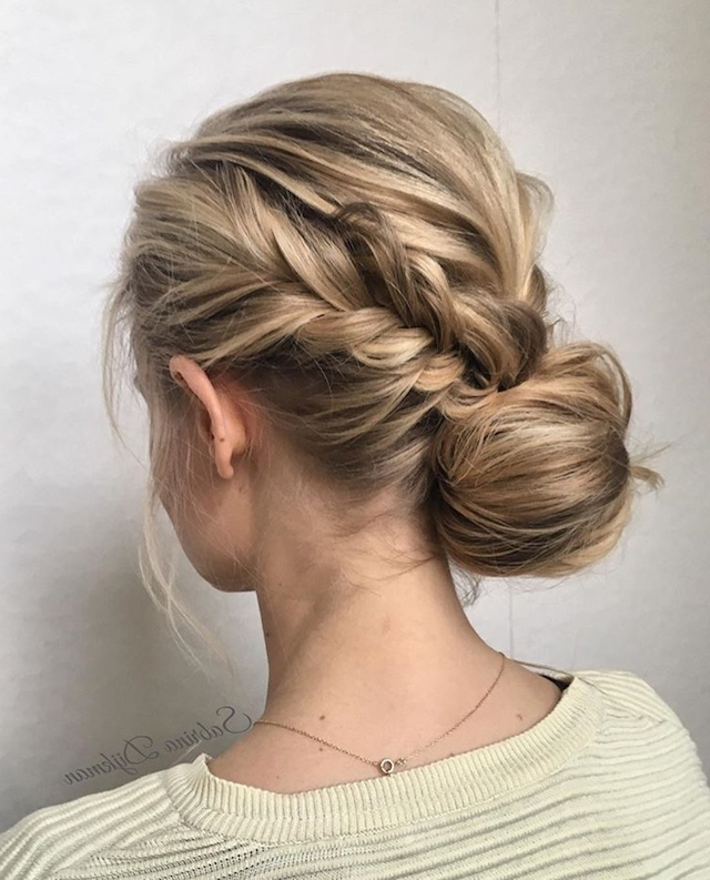 2018 Wedding Hair Trends | The Ultimate Wedding Hair Styles Of 2018 With Chic And Sophisticated Chignon Hairstyles For Wedding (View 5 of 25)