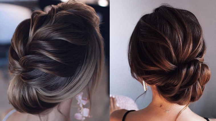 2019 Wedding Hairstyles & Updo And Low Bun Bridal Hairstyles – Page Regarding Wedding Low Bun Bridal Hairstyles (View 19 of 25)