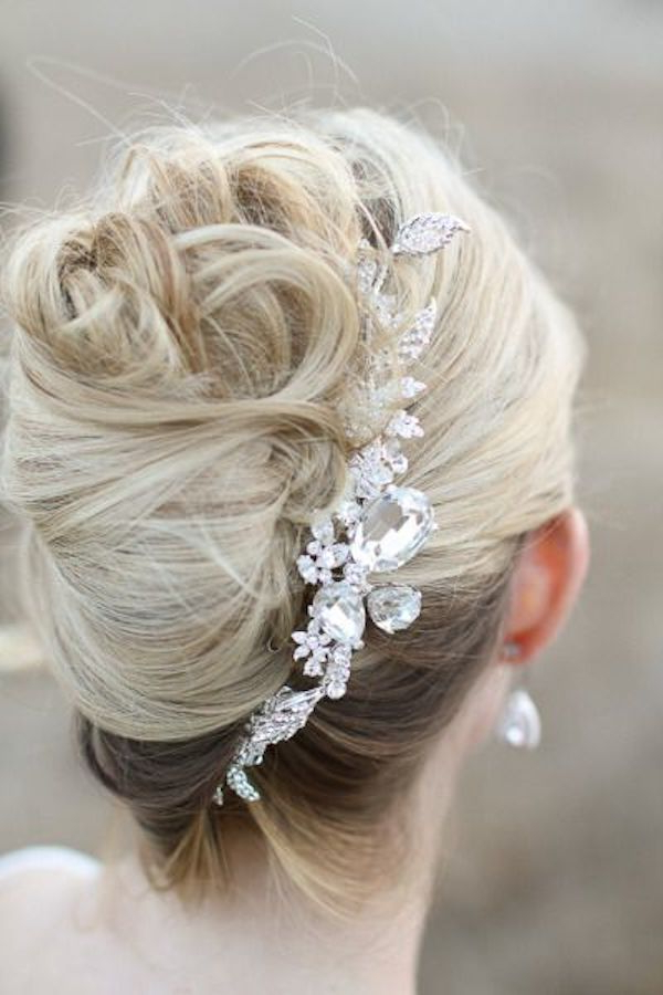 21 Wonderful Classic Wedding Hairstyles Ideas – Wohh Wedding With Messy French Roll Bridal Hairstyles (View 12 of 25)