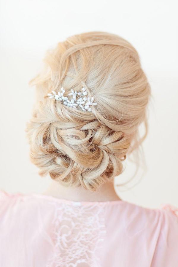 22 Bride's Favorite Wedding Hair Styles For Long Hair | Deer Pearl For Elegant Bridal Hairdos For Ombre Hair (View 21 of 25)