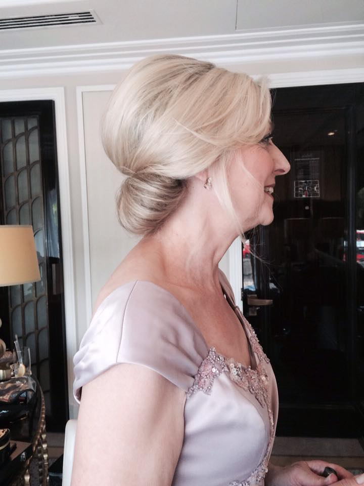 22 Gorgeous Mother Of The Bride Hairstyles Intended For Bridal Mid Bun Hairstyles With A Bouffant (View 19 of 25)