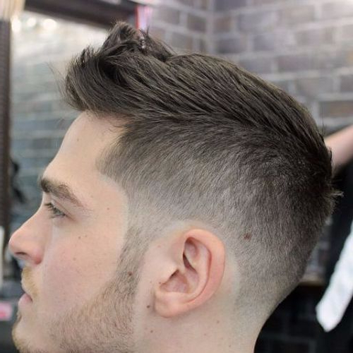 22 Rugged Faux Hawk Hairstyle You Should Try Right Away! In Short Hair Wedding Fauxhawk Hairstyles With Shaved Sides (View 13 of 25)