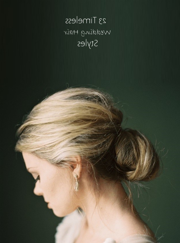 23 Absolutely Timeless Wedding Hairstyles Throughout Vintage Mother Of The Bride Hairstyles (View 24 of 25)