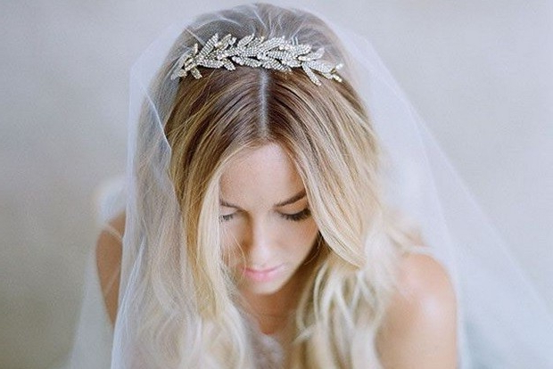 23 Absolutely Timeless Wedding Hairstyles Within Accessorized Undone Waves Bridal Hairstyles (View 21 of 25)