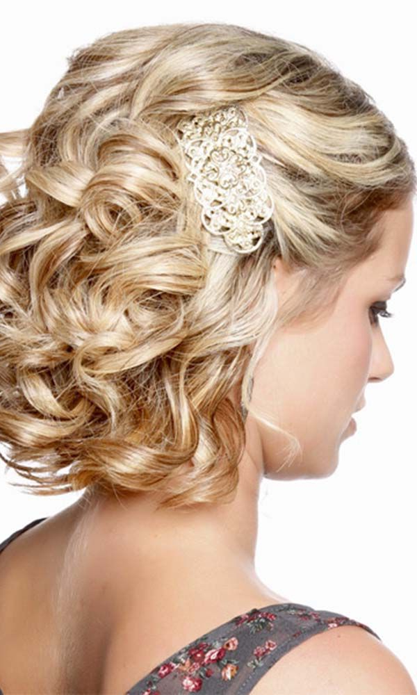 23 Most Glamorous Wedding Hairstyle For Short Hair – Haircuts In Simple Halfdo Wedding Hairstyles For Short Hair (View 23 of 25)