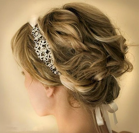 23 Updo For Short Hair Throughout Upswept Hairstyles For Wedding (View 10 of 25)