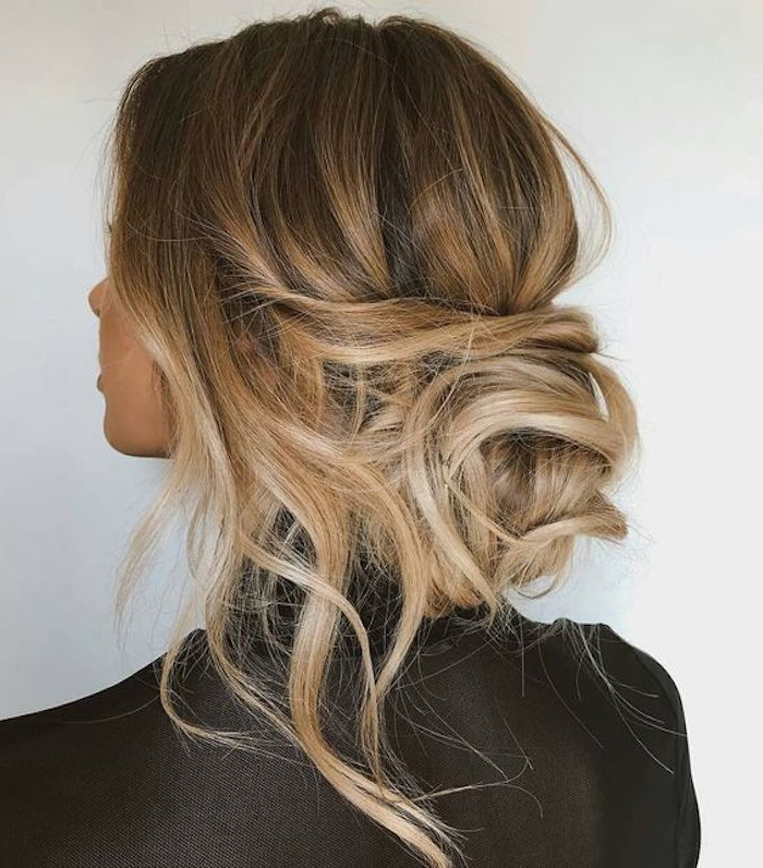 24 Gorgeous Messy Wedding Updos | Fabulous Hair | Pinterest | Hair Throughout Blonde Polished Updos Hairstyles For Wedding (View 5 of 25)