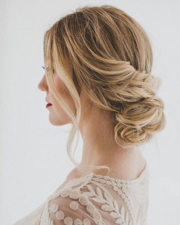 24 Gorgeous Messy Wedding Updos – Tania Maras | Bespoke Wedding Throughout Messy Bridal Updo Bridal Hairstyles (View 10 of 25)
