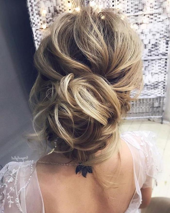 24 Gorgeous Messy Wedding Updos – Tania Maras | Bespoke Wedding Throughout Messy Bridal Updo Bridal Hairstyles (View 5 of 25)