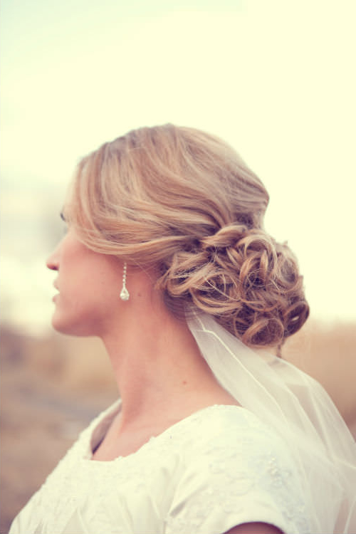 24 Gorgeous Wedding Hairstyles For Long Hair In 2019 Within Airy Curly Updos For Wedding (View 8 of 25)