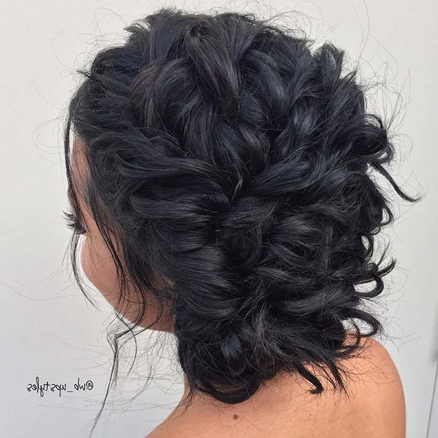 25 Best Formal Hairstyles To Copy In 2018 | Stayglam Regarding Upswept Hairstyles For Wedding (View 21 of 25)