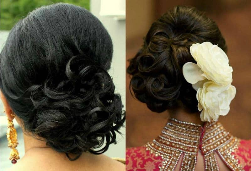 25 Best Indian Bun Hairstyles For Women With Long Hair With Regard To Messy Woven Updo Hairstyles For Mother Of The Bride (View 19 of 25)
