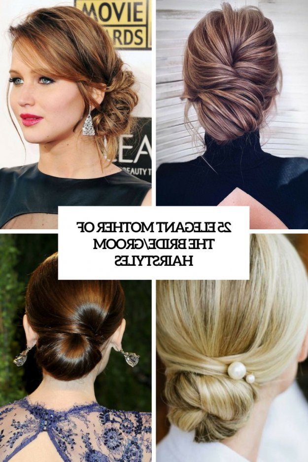25 Elegant Mother Of The Bride/groom Hairstyles – Weddingomania Pertaining To Sophisticated Mother Of The Bride Hairstyles (View 18 of 25)