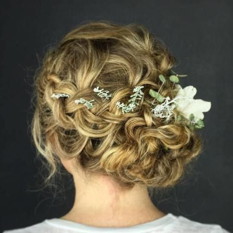 25 Updo Wedding Hairstyles – Caffehair Pertaining To Swirled Wedding Updos With Embellishment (View 24 of 25)