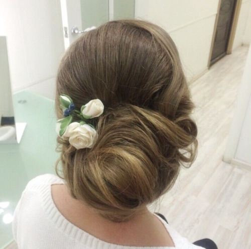 25 Updo Wedding Hairstyles – Caffehair Throughout Swirled Wedding Updos With Embellishment (View 20 of 25)