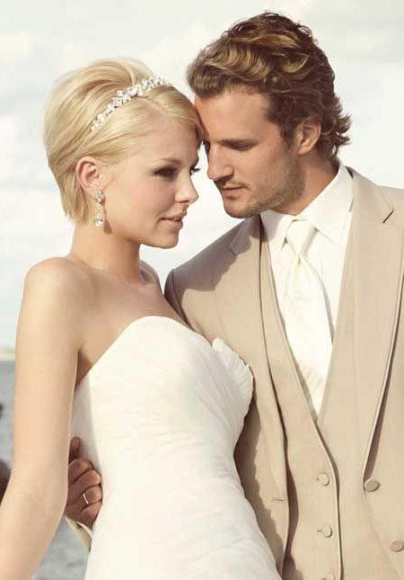 25 Wedding Hairstyles For Short Hair | Hair (View 12 of 25)