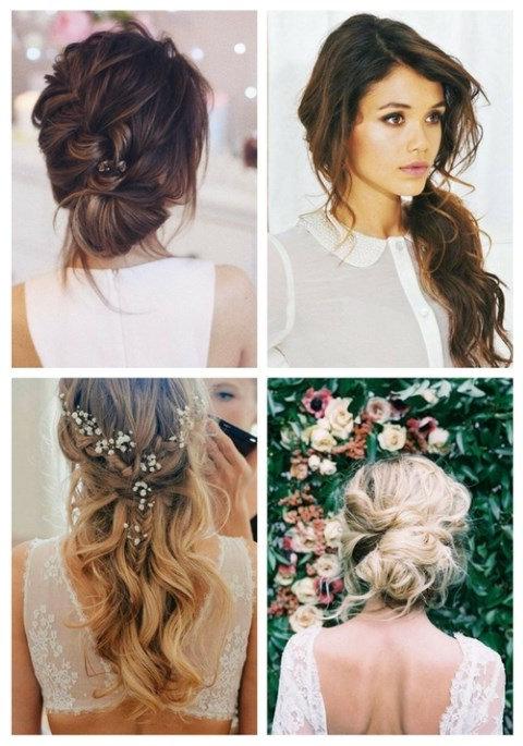 Featured Photo of Simple Laid Back Wedding Hairstyles