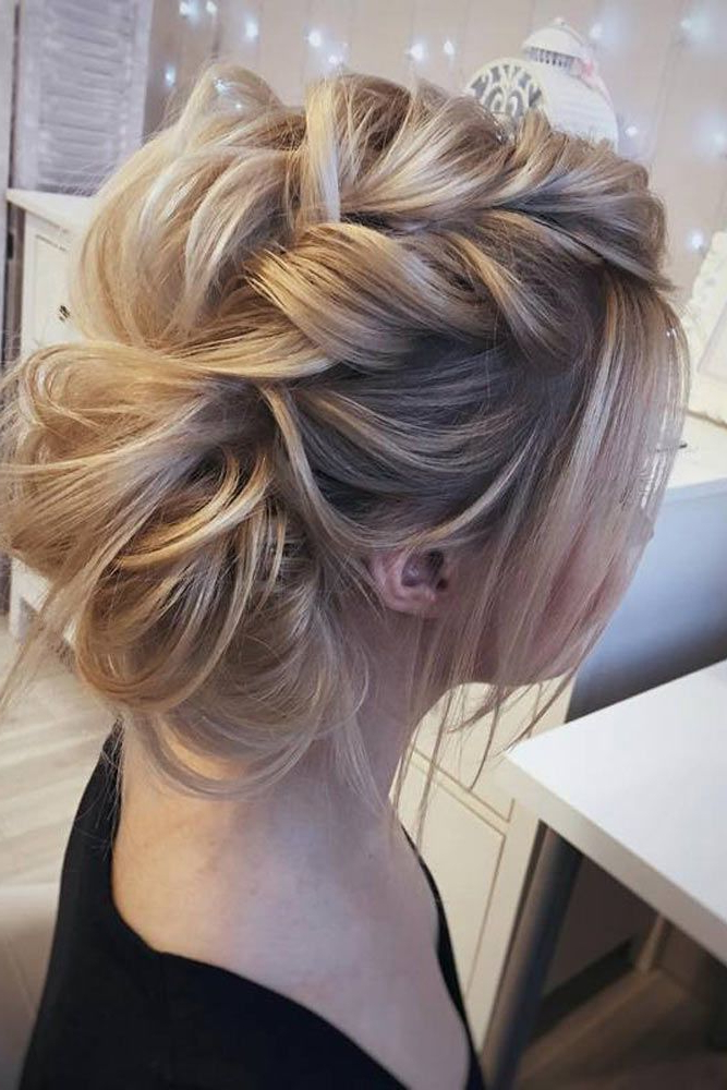 27 Chic Updos For Medium Hair | Hair Ideas | Pinterest | Hair, Hair Pertaining To Modern Updo Hairstyles For Wedding (View 7 of 25)