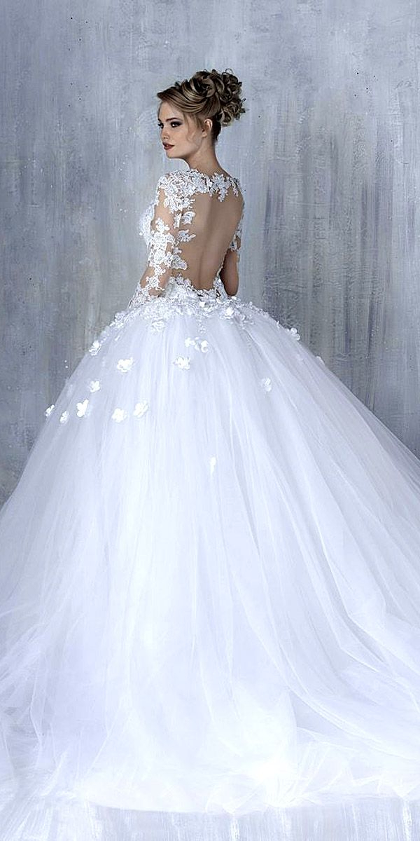 30 Ball Gown Wedding Dresses Fit For A Queen | Wedding Dresses To Within Sleek And Big Princess Ball Gown Updos For Brides (View 8 of 25)