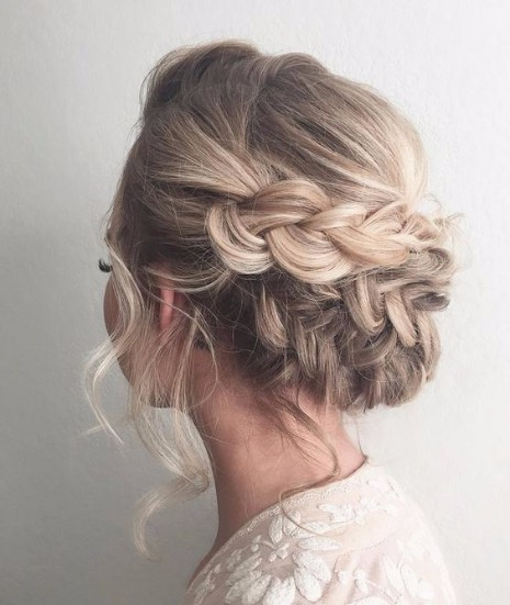 30 Elegant Outdoor Wedding Hairstyles – Hairstyles & Haircuts For Pertaining To Upswept Hairstyles For Wedding (View 5 of 25)