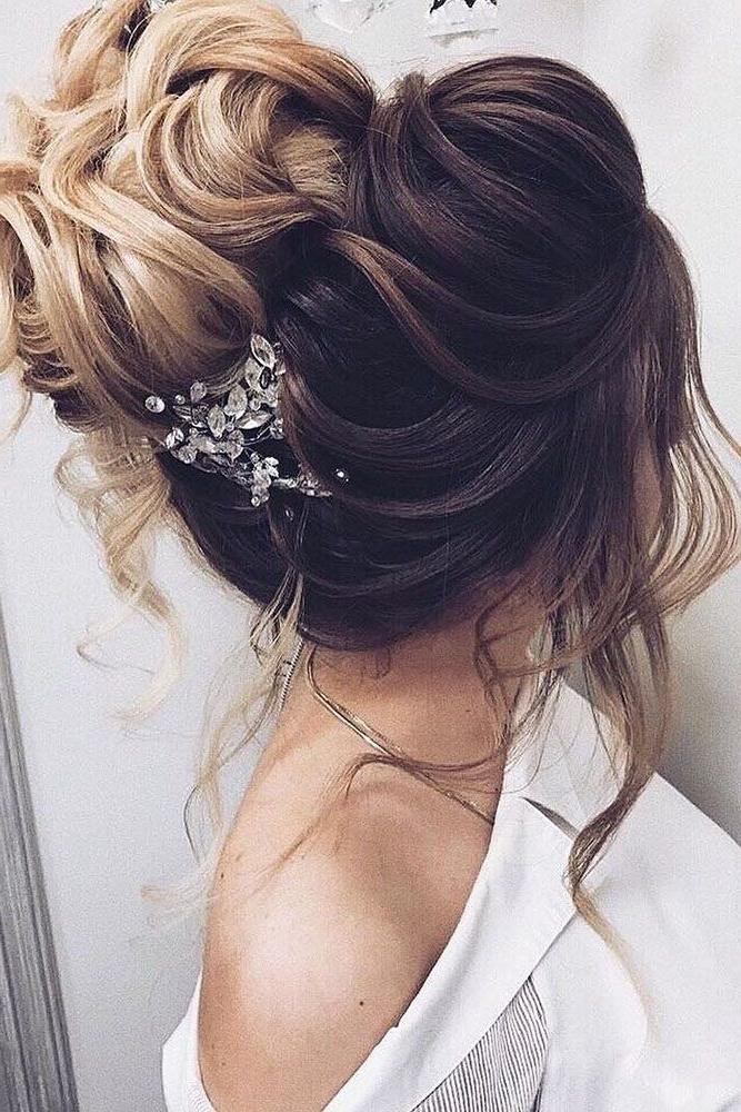 30 Elegant Wedding Hairstyles For Gentle Brides   Hair In Elegant Bridal Hairdos For Ombre Hair (View 8 of 25)