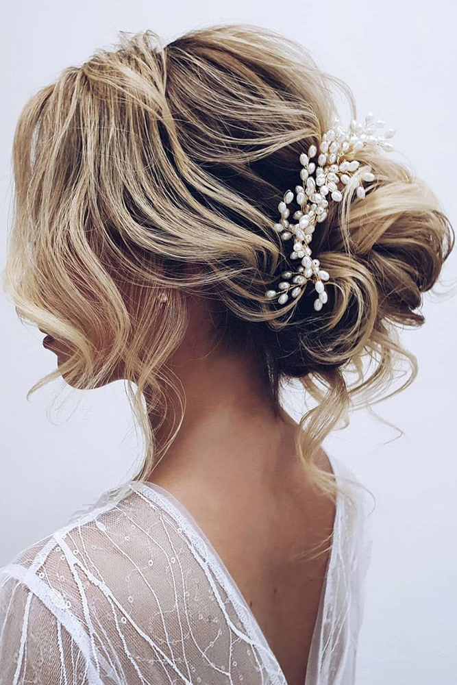 30 Enchanting Bridal Hair Accessories To Inspire Your Hairstyle within Accessorized Undone Waves Bridal Hairstyles