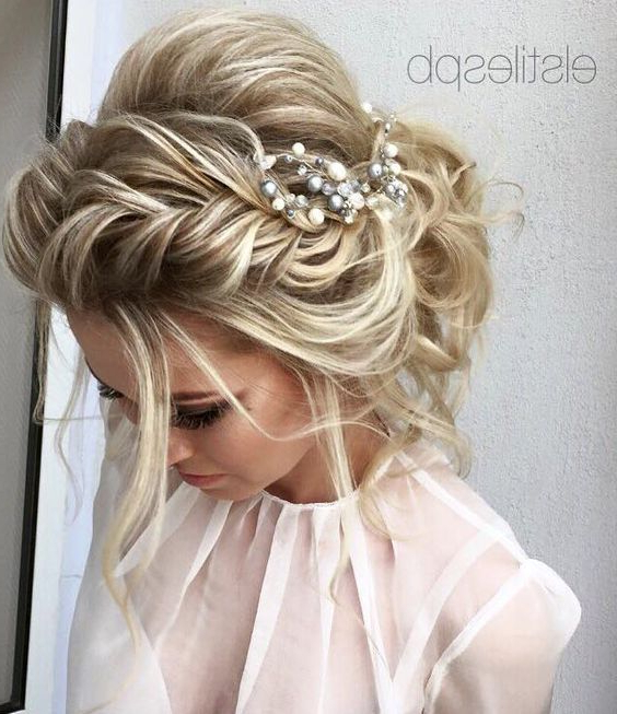 30 Hairstyles For Indian Wedding (And Bridal) In 2019 – Find Health Tips Inside Formal Bridal Hairstyles With Volume (View 8 of 25)