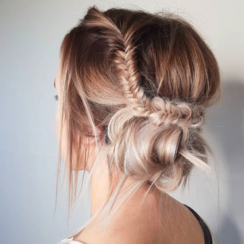 30 Mother Of The Bride Hairstyles 2017 | Herinterest/ Throughout Low Messy Bun Hairstyles For Mother Of The Bride (View 24 of 25)