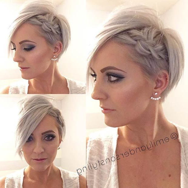Featured Photo of Short Side Braid Bridal Hairstyles