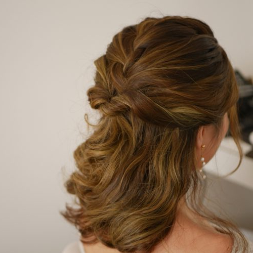 Featured Photo of Cute Formal Half Updo Hairstyles For Thick Medium Hair