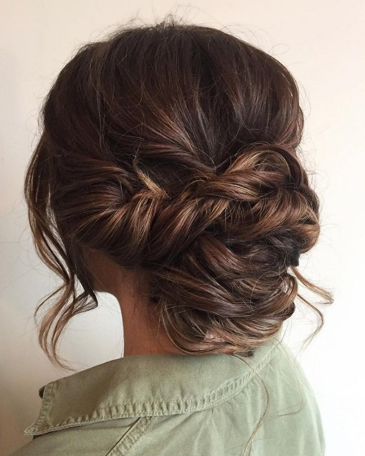 33 Half Up Half Down Wedding Hairstyles Ideas | Hair & Beauty Intended For Wedding Semi Updo Bridal Hairstyles With Braid (View 5 of 25)