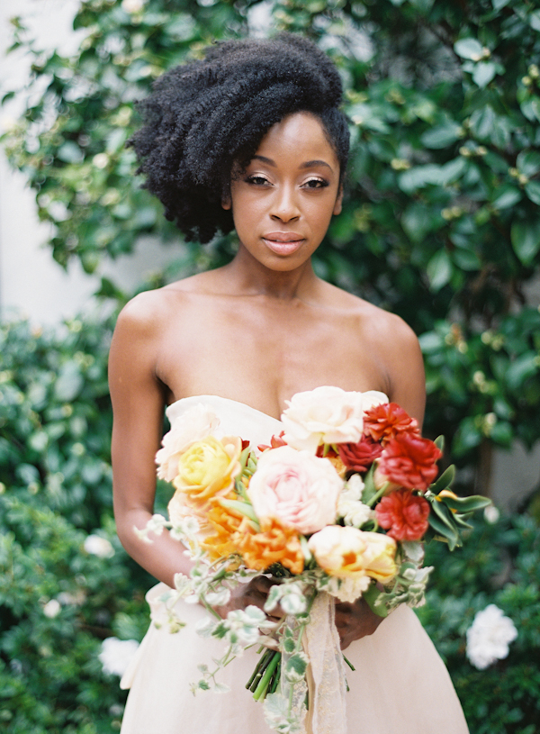 33 Modern Curly Hairstyles That Will Slay On Your Wedding Day | A Inside Romantic Bridal Hairstyles For Natural Hair (View 18 of 25)