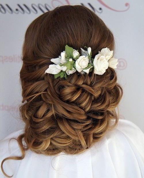 35 Chic Wedding Hair Updos For Elegant Brides – My Stylish Zoo Inside Spiraled Wedding Updos (View 17 of 25)