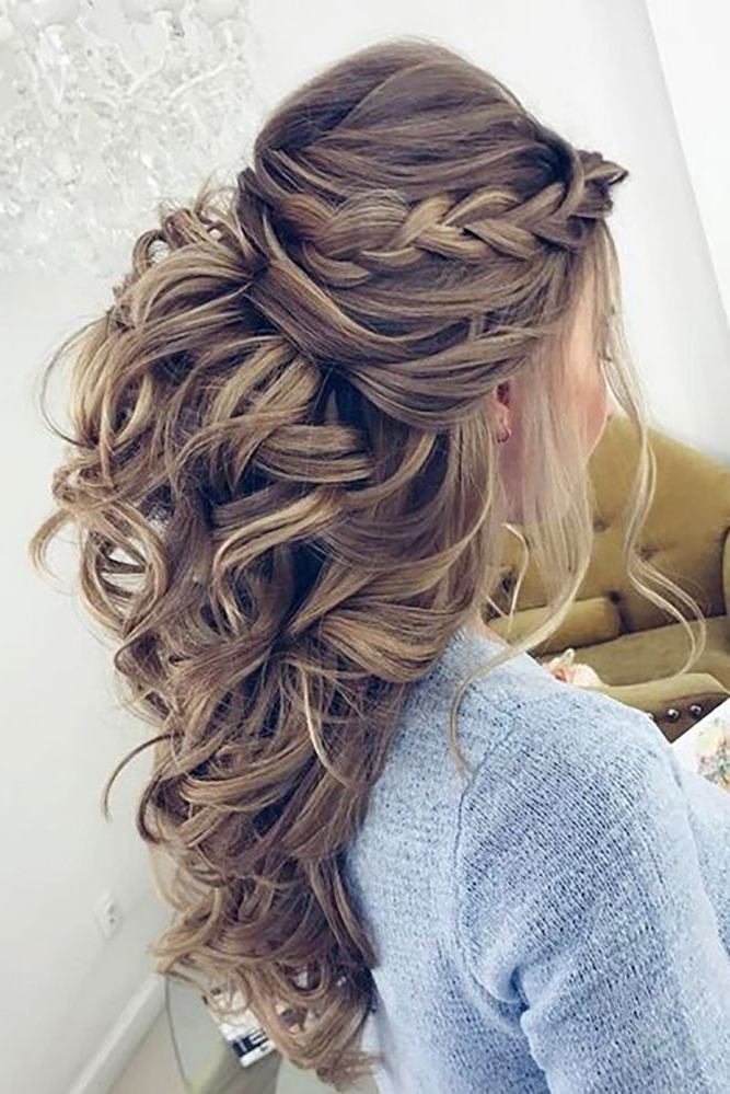 36 Chic And Easy Wedding Guest Hairstyles | Hair Styles | Wedding Within Easy Cute Gray Half Updo Hairstyles For Wedding (View 12 of 25)