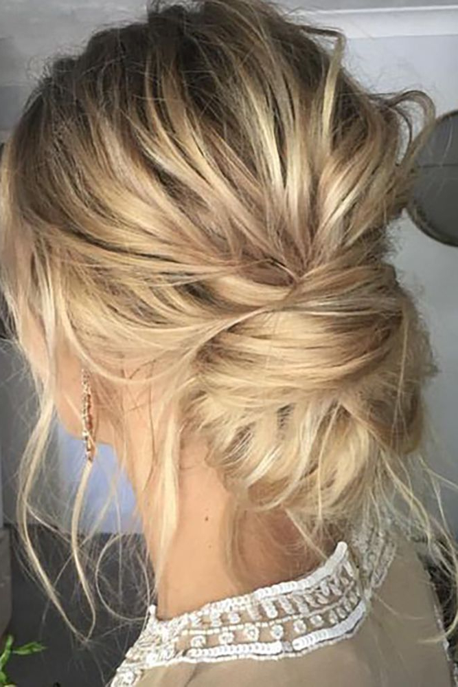 36 Chic And Easy Wedding Guest Hairstyles | Wedding Bridal Hair Throughout Loose Wedding Updos For Short Hair (View 24 of 25)