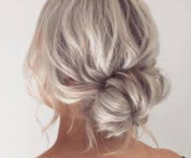 4 Ways To Make A Messy Bun – Wikihow Inside Low Messy Bun Wedding Hairstyles For Fine Hair (View 9 of 25)